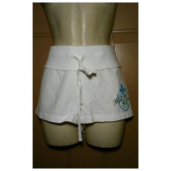 "PINK Victoria's Secret Pants - NWOT PINK VICTORIA'S SECRET ""PINK ROYALTY"" SHORTS"